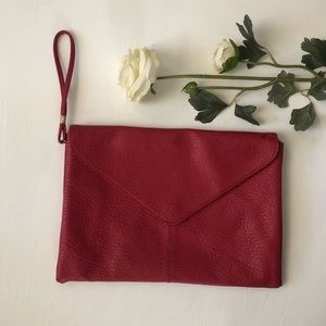 Red Envelope Clutch Purse